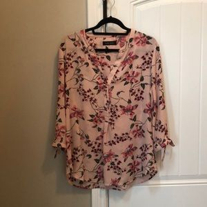 Tops - Ivanka Trump Top Floral Size Large